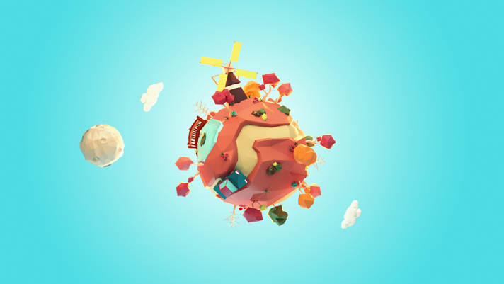 Planets LowPoly Day